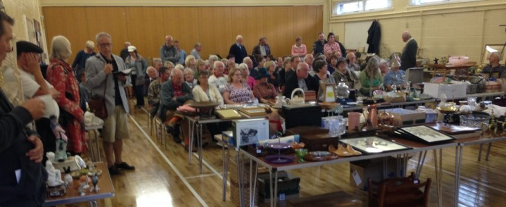 Auction at Badger Farm Community Centre - 3rd October 2015