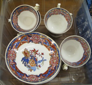 Lot 279 - Oriental tea service - Sold for £46