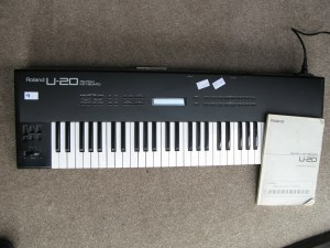 Roland U-20 RS-PCM Keyboard not working. Display, control panel keys and demo sounds work but not the keyboard. Sold as not working for repair only. No PAT certificate. It is in good mechanical order.