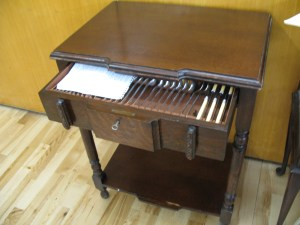 Lot 101a - Sideboard with cutlery canteen - Sold for £30