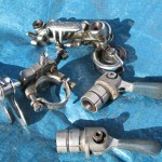 """Don Louis """"Groupset"""" - Campagnolo derailleurs and bar shifters 1"""