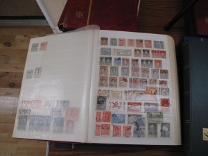 Lot 194 - Collection of Foreign and British Stamps - Sold for £40