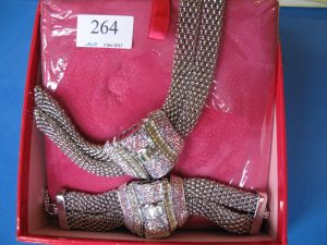 Lot 264 - Bracelet and Necklace - Sold for £80