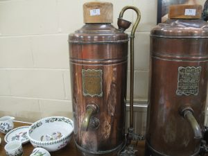 Lot 72 - Victorian geyser - Sold for £50
