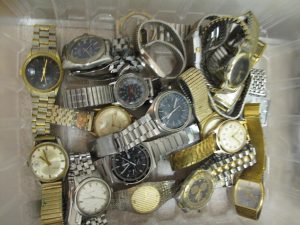 Lot 127 - Collection of gentlemans watches - Sold for £85