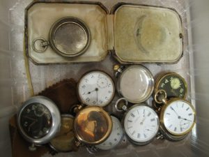 Lot 131- Collection of pocket watches - Sold for £180