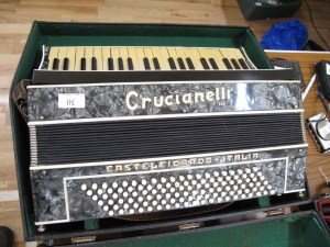 Lot 30 - Crucianell Accordion - Sold for £115