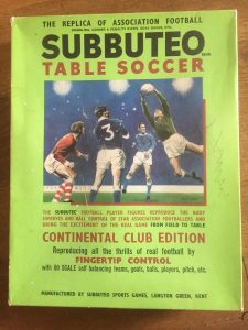 Subbuteo Continental Club Edition