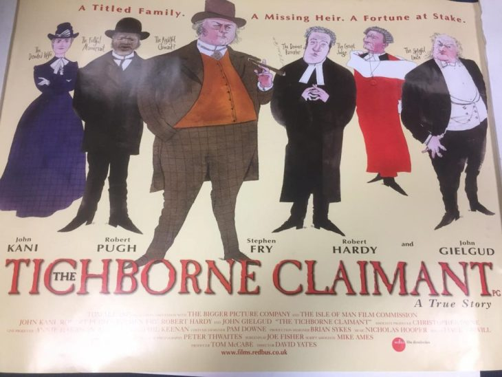 The Tichborne Claimant - Film Poster