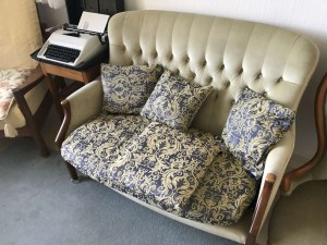 Upholstered Parker Knoll 2 Seater Sofa