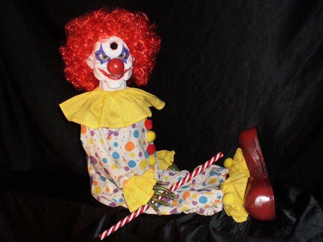 Illusion Zombie Clown Dummy Ventriloquist Puppet Doll ...