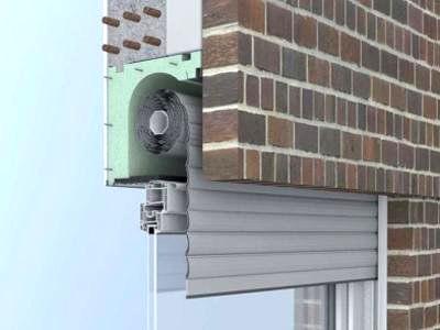 Kit standard per isolamento acustico e termico di cassettoni avvolgibili e. Isolamento Cassonetti