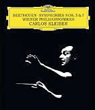 BEETHOVEN: Symphony No. 5 in c; Symphony No. 7 in A – Vienna Philharmonic Orch./ Carlos Kleiber – DGG audio-only Blu-ray