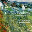 BRAHMS: String Sextet No. 1 in B-flat Major; String Sextet No. 2 in G Major – Prazak Q./ Petr Homan, viola/ Vladimir Fortin, cello – Praga Digitals
