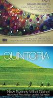 """RAVEL: Intimate Masterpieces"" = Introduction et Allegro; String Quartet in F Major; Chansons madécasses; Cinq mélodies populaires grecques – Yolanda Kondonassis, harp & others – Oberlin Music ""Quintopia"" = RAVEL: Ma mère l'oye; PERCY GRAINGER: Irish Tune from County Derry; Lisbon; Walking Tune; LYLE CHAN: Passage; Calcium Light Night; NIELSEN: Wind Quintet – New Sydney Wind Quintet"