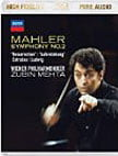 "MAHLER: Symphony No. 2 in c minor ""Resurrection"" – Vienna Philharmonic/ Zubin Mehta/ Ilena Cotrubas, sop./ Christa Ludwig, contralto – Decca audio-only Blu-ray"