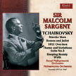 Sir Malcolm Sargent conducts TCHAIKOVSKY: Marche Slav; Romeo and Juliet – Fantasy Overture; Waltz; Theme and Variations from Suite No. 3; 1812 Overture – Royal Philharmonic Orch./ Sir Malcolm Sargent – Guild