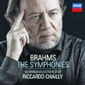 BRAHMS: The Four Symphonies; Overtures – Gewandhausorchester/ Riccardo Chailly – Decca (3-CDs)