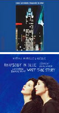 GERSHWIN: Rhapsody in Blue; Eight Gershwin tunes – Uri Caine Ensemble [TrackList follows] – Winter & Winter  GERSHWIN: Rhapsody in Blue; West Side Story Suite – Katia & Marielle Labqèue, pianos – kml recordings