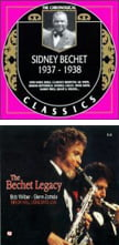 Sidney Bechet 1937-1938 [TrackList follows] – The Chronogical  ClassicsThe Bechet Legacy [TrackList follows] – Bob Wilber & Glenn Zottola – Classic Jazz (2 CDs)