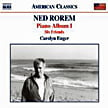 ROREM: Piano Album 1 = Piano Album I; Six Friends – Carolyn Enger, p. – Naxos