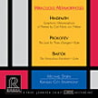 """Miraculous Metamorphoses"" = HINDEMITH: Symphonic Metamorphosis of Themes by Carl Maria von Weber; PROKOFIEFF: The Love for Three Oranges Suite; BARTOK: The Miraculous Mandarin Suite – Kansas City Sym./ Michael Stern – Reference Recordings"
