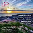 "MENDELSSOHN: Symphony No. 3, ""Scottish""; Hebrides Overture; SCHUMANN: Piano Concerto in a – Maria Joao Pires, p./ London Sym. Orch./ John Eliot Gardiner – LSO Live Pure Audio Blu-ray & SACD"