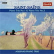 SAINT-SAENS: Piano Trio No. 1 in F Major & No. 2 in E Minor – Aquinas Piano Trio – Guild