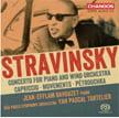 STRAVINSKY: Concerto for Piano and Winds; Capriccio; Movements; Pétrouchka – Jean-Efflam Bavouzet, p./ São Paulo Sym. Orch. /Yan Pascal Tortelier – Chandos