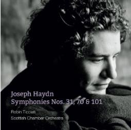 HAYDN: Symphonies 31, 70 and 101 – Robin Ticciati / Scottish Chamber Orch. – Linn