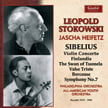 Stokowski Conducts SIBELIUS = Finlandia; The Swan of Tuonela; Valse Triste; Berceuse from The Tempest; Sym. No. 7 in C Major – Jascha Heifetz, v./ Philadelphia Orch./ All-American Youth Symphony – Guild