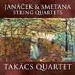 "SMETANA: String Quartet No. 1 in e minor ""From Mt Life""; JANACEK: String Quartet No. 1 ""The Kreutzer Sonata"";  String Quartet No. 2 ""Intimate letters"" – Takacs String Q. – Hyperion"