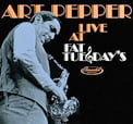 Art Pepper Live At Fat Tuesday's – Elemental Music