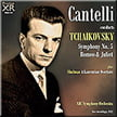TCHAIKOVSKY: Symphony No. 5 in e minor; Romeo and Juliet – Fantasy Ov.; SHULMAN: A Laurentian Ov. – NBC Sym./ Guido Cantelli – Pristine Audio