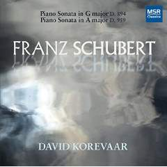 SCHUBERT: Piano Sonatas: No. 18 in G; No. 20 – David Korevaar, p. – MSR Classics