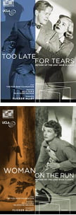 """The Return of Lost Noir Classics"" = Too Late for Tears, Blu-ray (1949/2016); Woman On the Run, Blu-ray (1950/2016)"
