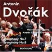 DVORAK: Symphonies Nos. 7 & 8 – Andrés Orozco – Estrada/ Houston Sym. – Pentatone