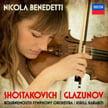 SHOSTAKOVICH: Violin Concerto No. 1 in a minor; GLAZUNOV: Violin Concerto in a minor – Nicola Benedetti, v./ Bournemouth Sym. Orch./ Kirill Karabits – Decca
