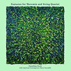 EYCK: Fantasias for Theremin and String Quartet – Eyck, theremin/ American Contemp. Music Ens. – Butterscotch vinyl or CD