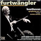 "BEETHOVEN: Coriolan Ov.; Symphony No. 3 in E-flat Major ""Eroica"" – Vienna Philharmonic Orch./ Berlin Philharmonic Orch./ W. Furtwaengler – Pristine Audio"