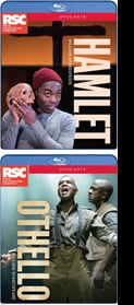 SHAKESPEARE: Hamlet & Othello (comp.productions by Royal Shakespeare Co.), Blu-ray (2016)
