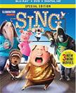 Sing, animated Blu-ray (2017)