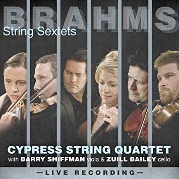BRAHMS: String Sextet No. 1; String Sextet No. 2 – Barry Sullivan, viola/ Zuill Bailey, cello/ Cypress String Quartet – Avie