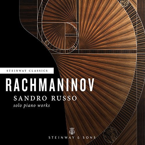 RACHMANINOV: Piano Sonata No. 1 in d minor; 3 Etudes-Tableaux; 4 Songs; Variations on a Theme of Corelli – Sandro Russo, p. – Steinway & Sons