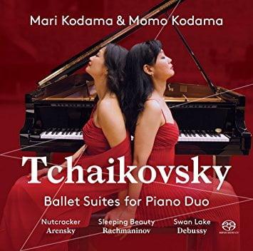 TCHAIKOVSKY: Ballet Suites for Piano Duo = Sleeping Beauty; Nutcracker; Swan Lake; Suite for Piano Duo – Mari and Momo Kodama, piano-duo – Pentatone