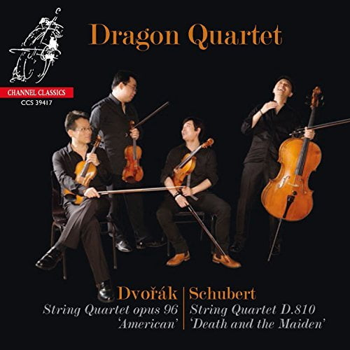 DVORAK & SCHUBERT:  'American' and 'Death and the Maiden' Quartets – Channel Classics