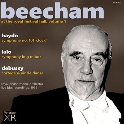 Beecham at the Royal Festival Hall, Vol. I = HAYDN: Symphony No. 101; LALO: Symphony in G Minor; DEBUSSY: Cortege et Air de Danse – Royal Phil. Orch./ Sir Thomas Beecham – Pristine Audio