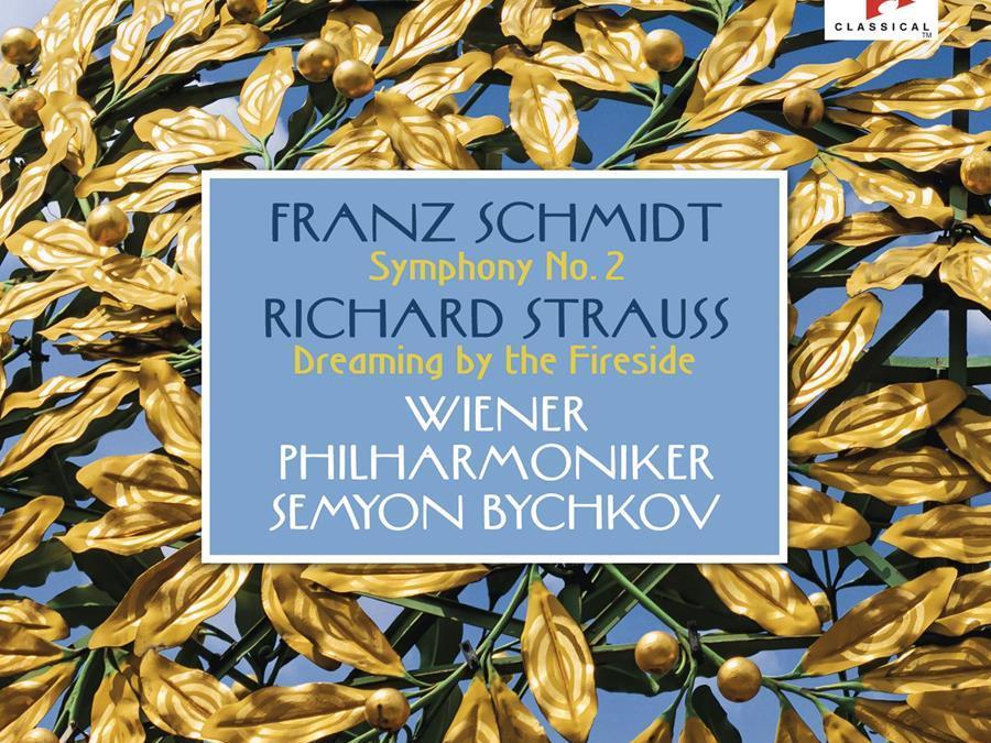 FRANZ SCHMIDT: Symphony; R. STRAUSS: Intermezzo Excerpt – Vienna Phil. Orch./ Semyon Bychkov – Sony