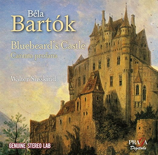 BARTOK: Bluebeard's Castle, Cantata Profana – New Symph. Orch. of London / Walter Susskind (cond.) – Praga Digitals