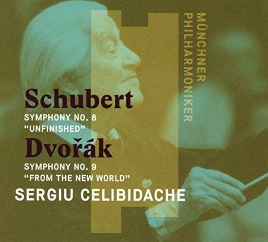 SCHUBERT: Symphony No. 8; DVORAK: Symphony No. 9 – Munich Philharmonic/ Sergiu Celibidache – Munich Philharmonic Archive